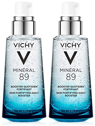 Vichy - Vichy Minéral 89 Daily Skin Booster Serum and Moisturizer, 1.69 Fl. Oz, 2-Pack