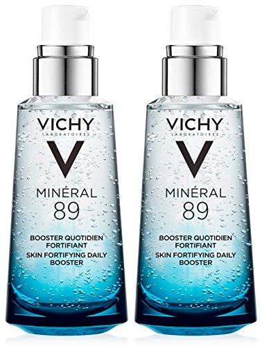 Vichy - Vichy Minéral 89 Daily Skin Booster Serum and Moisturizer, 1.69 Fl. Oz, 2-Pack