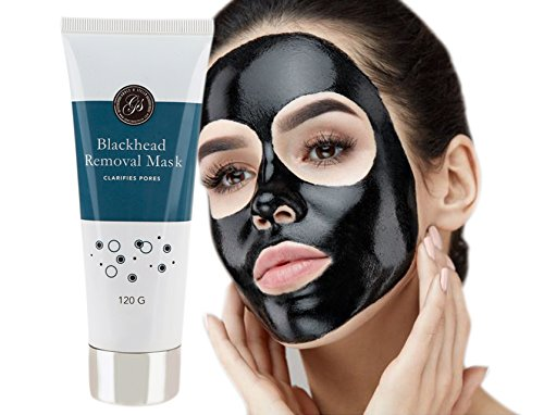 Grace & Stella - Blackhead Remover Peel Off Face Mask (120g) - Purifies & Deep Cleanses Clogged Pores - Use as Nose Strip - Facial Removal Mask by Grace & Stella Co.