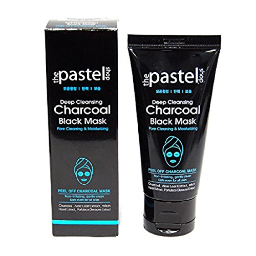 Pastel - Peel Off Mask, Deep Cleansing Charcoal Black Mask