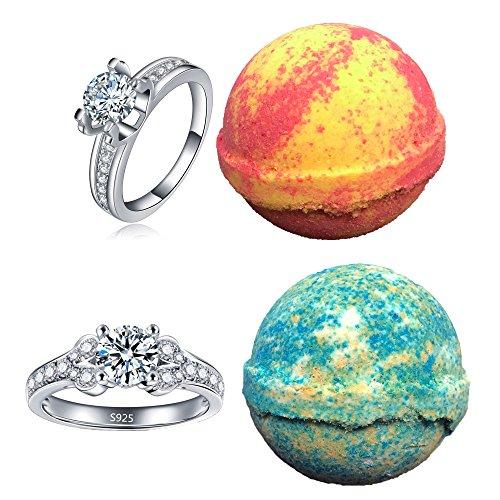 Amor Bath Bombs - Amor Bath Bombs, 2 Ring, Large, 5 oz.