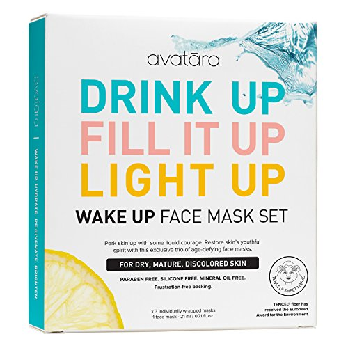 Avatara - Avatara Wake Up Face Sheet Mask Set Pack of 3