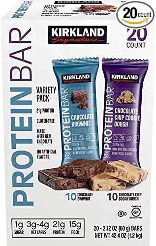 Kirkland Signature Kirkland Signature Protein bar Energy Variety Pack