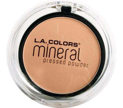 L. A. Colors - L.A. Colors Mineral Pressed Powder - Soft Honey