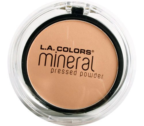 L. A. Colors - L.A. Colors Mineral Pressed Powder - Soft Honey