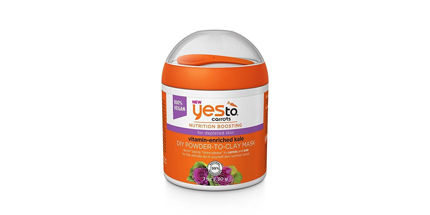 amazon.com - Yes To Carrots & Kale DIY Powder to Clay Mask, 1 oz (Pack of 2)