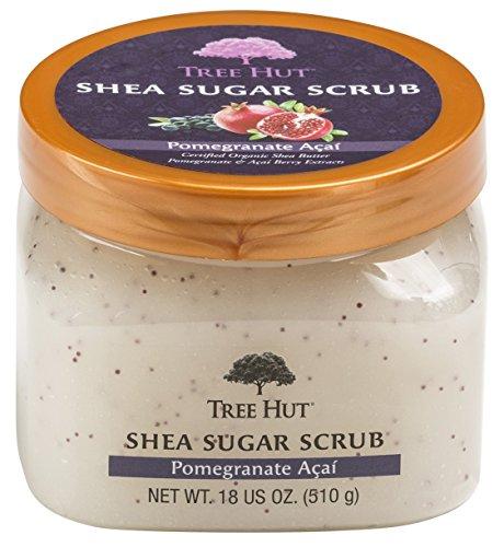 Tree Hut - Tree Hut Sugar Body Scrub 18 Ounce Pomegranate Acai Shea (532ml) (6 Pack)