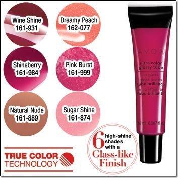 Avon - Avon Ultra Color Glossy Tube Lip Gloss (Dreamy Peach)