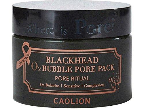 Caolion - Caolion Blackhead O2 Bubble Pore Pack Premium 50g