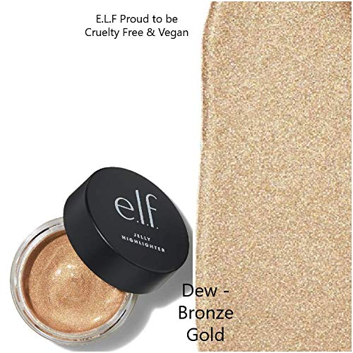 E.l.f Cosmetics - Elf, E.L.F Jelly Highlighter (DEW- Bronze Gold)