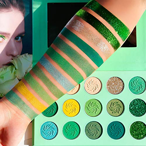 DE'LANCI - Avocado Green Eyeshadow Palette