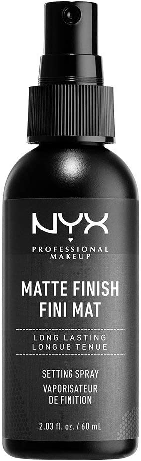 NYX - NYX Professional Makeup Make Up Setting Spray, Matte Finish/Long Lasting, 2.03 Ounce