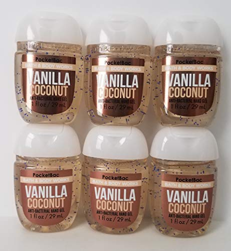 Bath & Body Works - Vanilla Coconut Pocketbac Hand Sanitizer