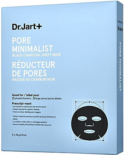 Dr.Jart+ - Pore Minimalist Mask Black Charcoal Sheet Mask
