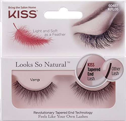 amazon.com - NEW KISS Looks So Natural VAMP Lashes - KFL05 by Kiss