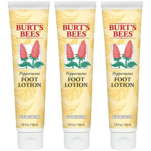 Burts Bees - Burt's Bees Peppermint Foot Lotion - 3.38 Ounce Tube (Pack of 3)