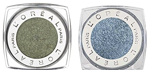 L'Oreal Paris - L'Oréal Infallible Eyeshadow Golden Sage and Infallible Eyeshadow Infinite Sky Bundle, Intense Maximized Color, Luxurious Texture, Long-Lasting Hold, Waterproof, Fade Resistant