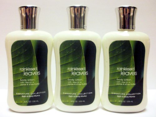 Bath & Body Works - Lot of 3 Bath & Body Works Body Lotion (Rainkissed Leaves)