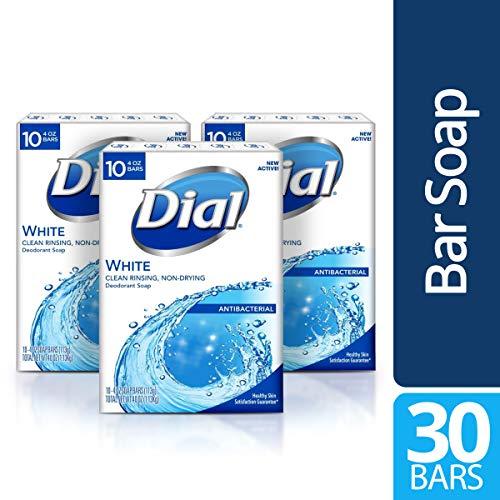 Dial - Antibacterial Bar Soap, White