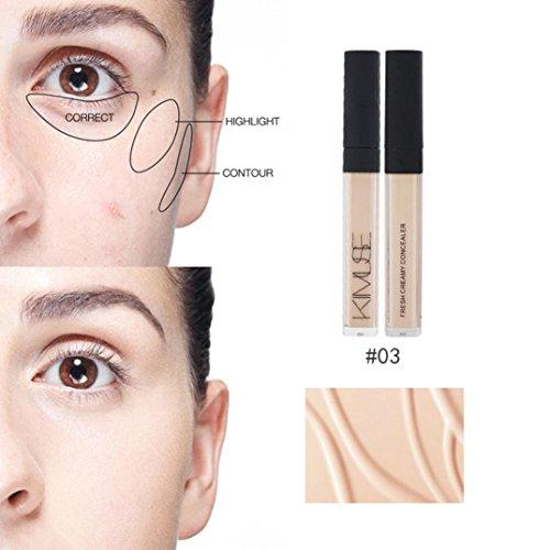 LtrottedJ - LtrottedJ Concealer Liquid Makeup ,Stick Moisturizing Dark Circles Marks Spots (C)