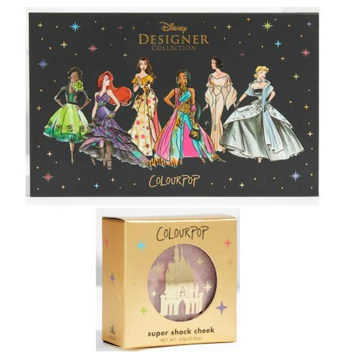 ColourPop - ColourPop Disney It's A Princess Thing Eyeshadow Palette and ColourPop Part Of Your World Super Shock Highlighter Set