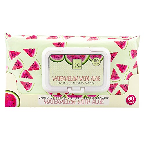 B.C Beauty Concepts - Beauty Concepts Watermelon with Aloe Facial Cleansing Wipes