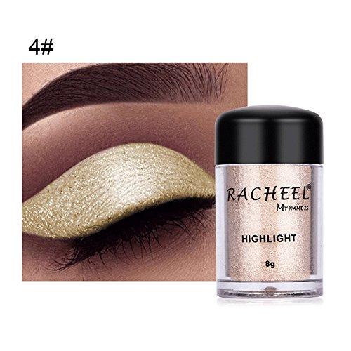 Jchen Eyeshadow Palette - Women Eyeshadow Palette,Jchen Fashion 2019 Eyeshadow Women Cosmetics Eye Shadow Color Makeup Pro Glitter Eyeshadow Powder 6 Colors to Choose (D)