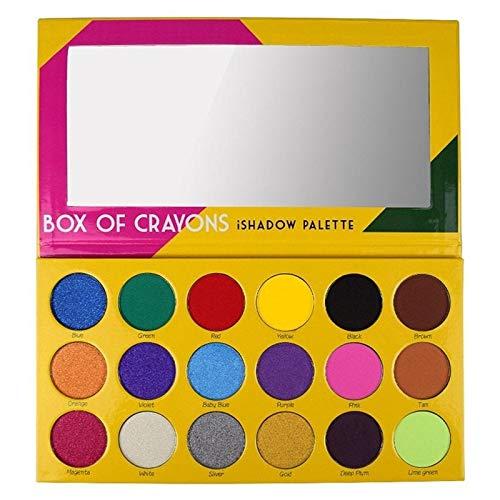 BOX OF CRAYONS Cosmetics - Eye Makeup Creative BOX OF CRAYONS Cosmetics Storm Eyeshadow Palette 18 Color Eyeshadow Palette