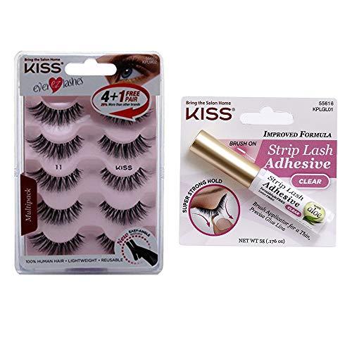 Kiss Usa - Lashes 11 and Lash Glue