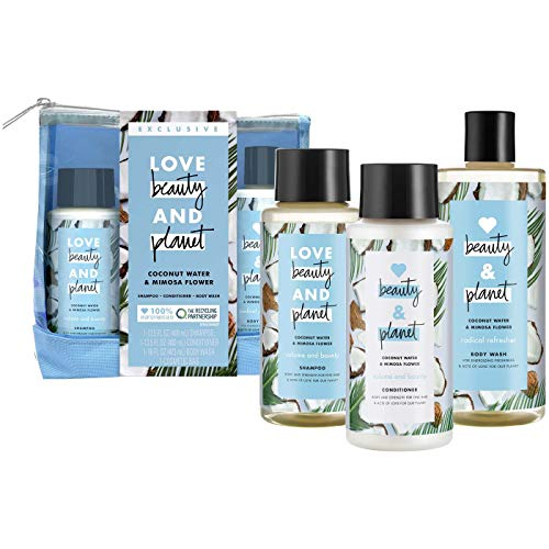 Love, Beauty & Planet - Hair Care Set, Coconut Water and Mimosa Flower