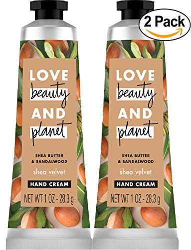 Love Beauty and Planet Lotion - Love Beauty and Planet Shea Butter & Sandalwood Shea Velvet Body Lotion - Shea - 1oz - Pack of 2