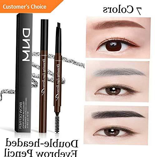 Kaputar - Kaputar Waterproof Eyebrow Pencil with Brush Triangle Automatic Rotate Brow Tattoo Pen | Model MKPBRSH - 3400 | 1