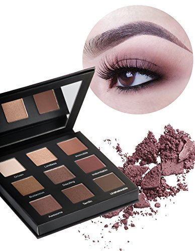 """Realher - Realher """"Do Your Squats"""" Perfect Basics Eye-shadow Palette Naked Tones Matte/Shimmer/Metallic Finish No- Creasing Fading or Fallout"""