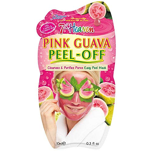 7Th Heaven - 7th Heaven Facial Masks (Pack of 12, Pink Guava Peel-Off)