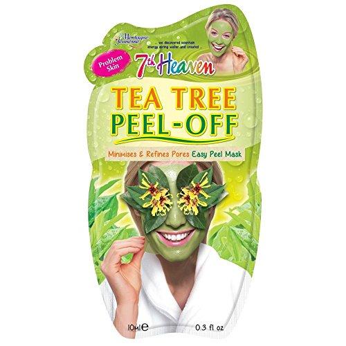 7Th Heaven - 7th Heaven Facial Masks (Pack of 12, Tea Tree Peel-Off .3 oz)