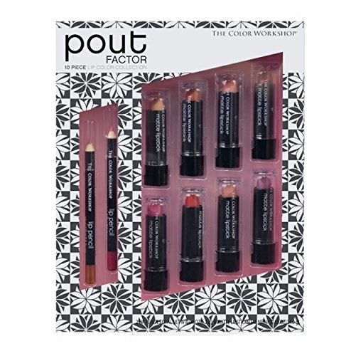 The Color Workshop - Pout Perfection Lip Color Collection