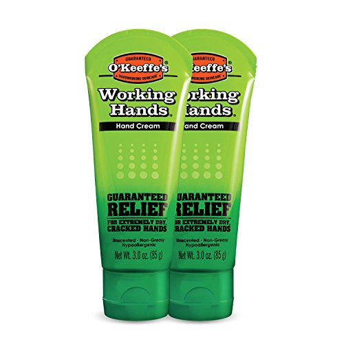 O'Keeffe'S - O'Keeffe's Working Hands Hand Cream, 3 ounce Tube, (Pack of 2)