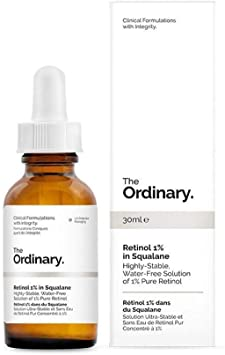 The Ordinary - Retinol 1% In Squalane Water Free With 1% Pure Retinol