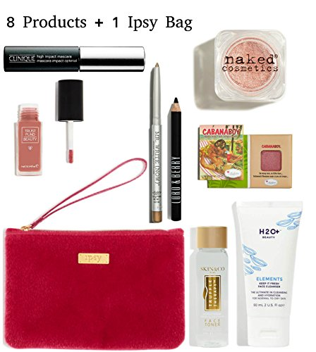 Ipsy - Cosmetics Bag & 8 Products