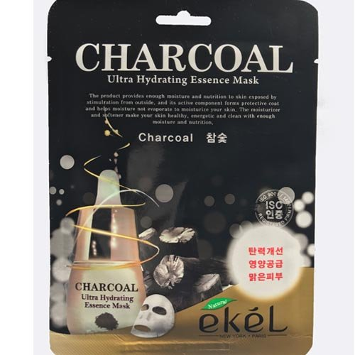 eKeL - Charcoal Ultra Hydrating Essence Mask