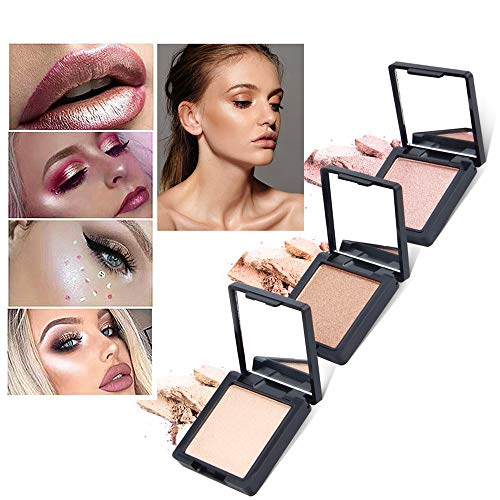 Ourhomer - Ourhomer Clearance Sale QIBEST Lasting Makeup Foundation Cream Concealer Mention Powder High Light Powder Shimmer (E)