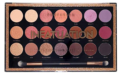 Profusion Cosmetics - 21 Shade Eyeshadow Palette ~ Infatuation