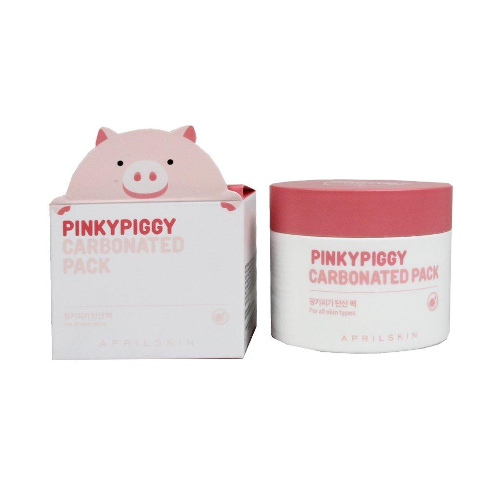 amazon.com April Skin PinkyPiggy Carbonated Pack 3.38 Ounce / 100 Gram