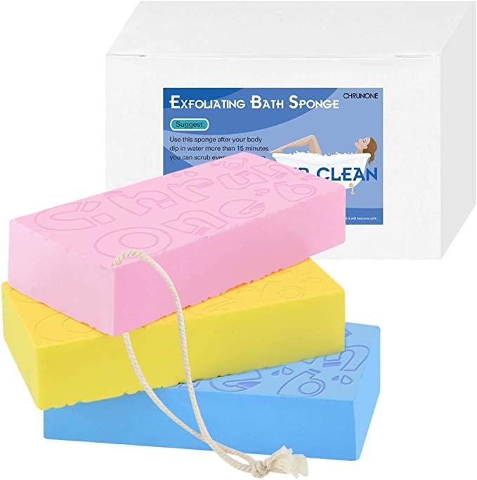 CHRUNONE Exfoliating Bath Sponge
