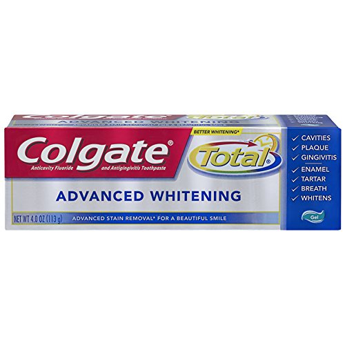 Colgate - Colgate Total Advanced Whitening Gel Toothpaste - 4.0 ounce (6 Pack)