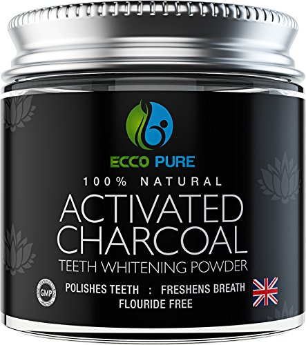 Ecco Pure - Activated Charcoal Natural Teeth Whitening Powder