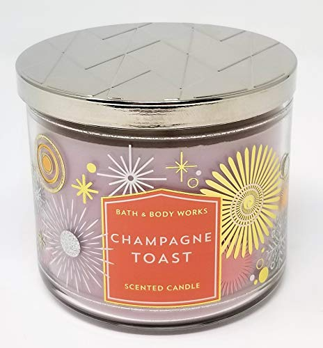 Bath & Body Works - Champagne Toast, 3 Wick Candle