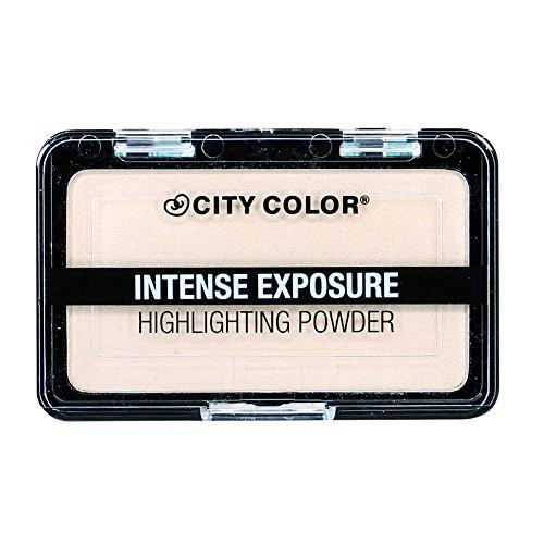 City Color Cosmetics - CITY COLOR Intense Exposure Highlighting Powder - Highlight