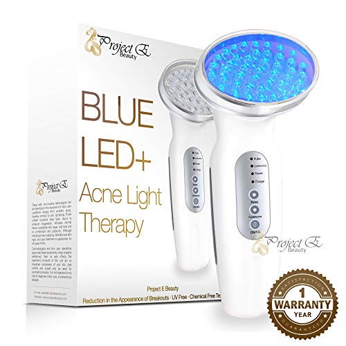Project E Beauty - Project E Beauty Light Photon LED Therapy Bacteria Killing Improve Sensitive Skin Rechargeable Beauty Device