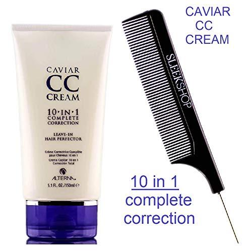Caviar by Henkel - Alterna CAVIAR Anti-Aging Replenishing MOISTURE CC CREAM 10-in-1 Complete Correction Leave-In (STYLIST KIT) Leave In Conditioner (ORIGINAL - 5.1 oz / 150 ml)